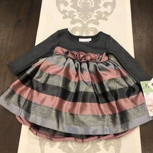 Bonnie Baby 12 month Christmas or New Years dress